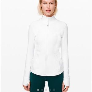 NEVER WORN White Lululemon Define Jacket